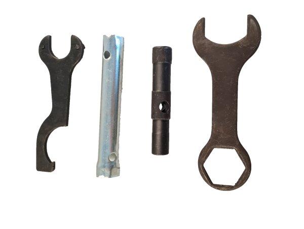 Werkzeugsatz Spezialwerkzeug vierteilig